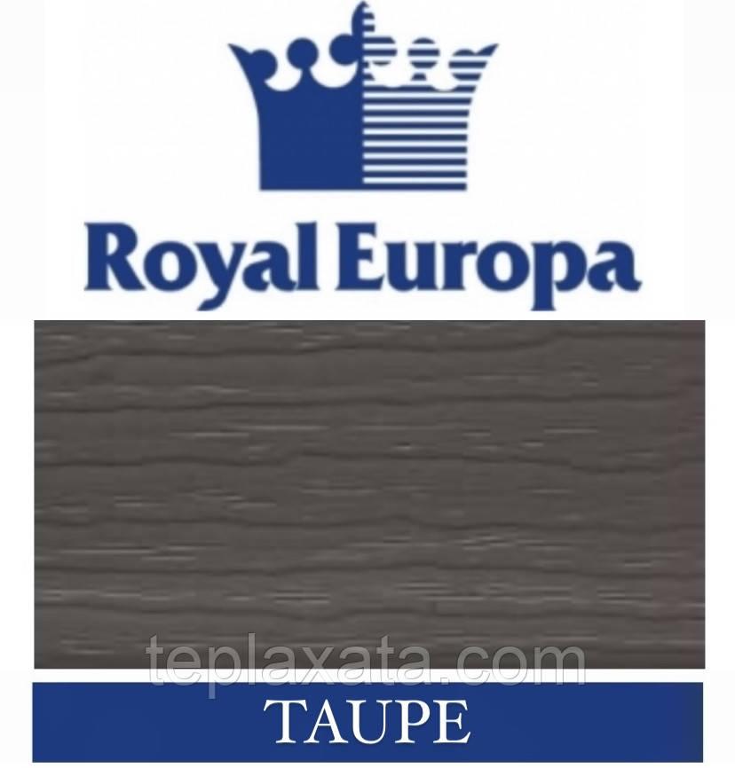 Сайдинг ROYAL Crest Корабельная доска (Taupe) 0,777 м2