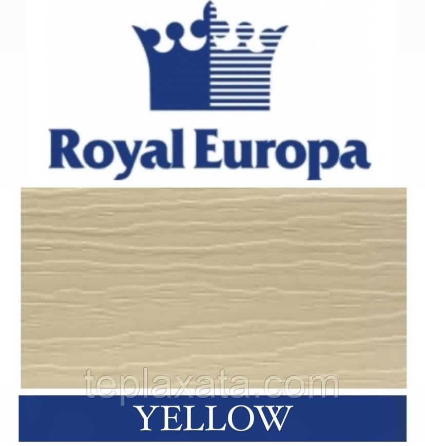 Сайдинг ROYAL Grandform Корабельная доска (Yellow) 0,777 м2