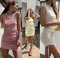Жіночий стильний облягаючий сарафан