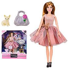 """Кукла """"Emily"""" QJ087C с аксессуарами, шарнирная, р-р куклы - 29 см, в кор. 25,8*6,5*32,5см"""