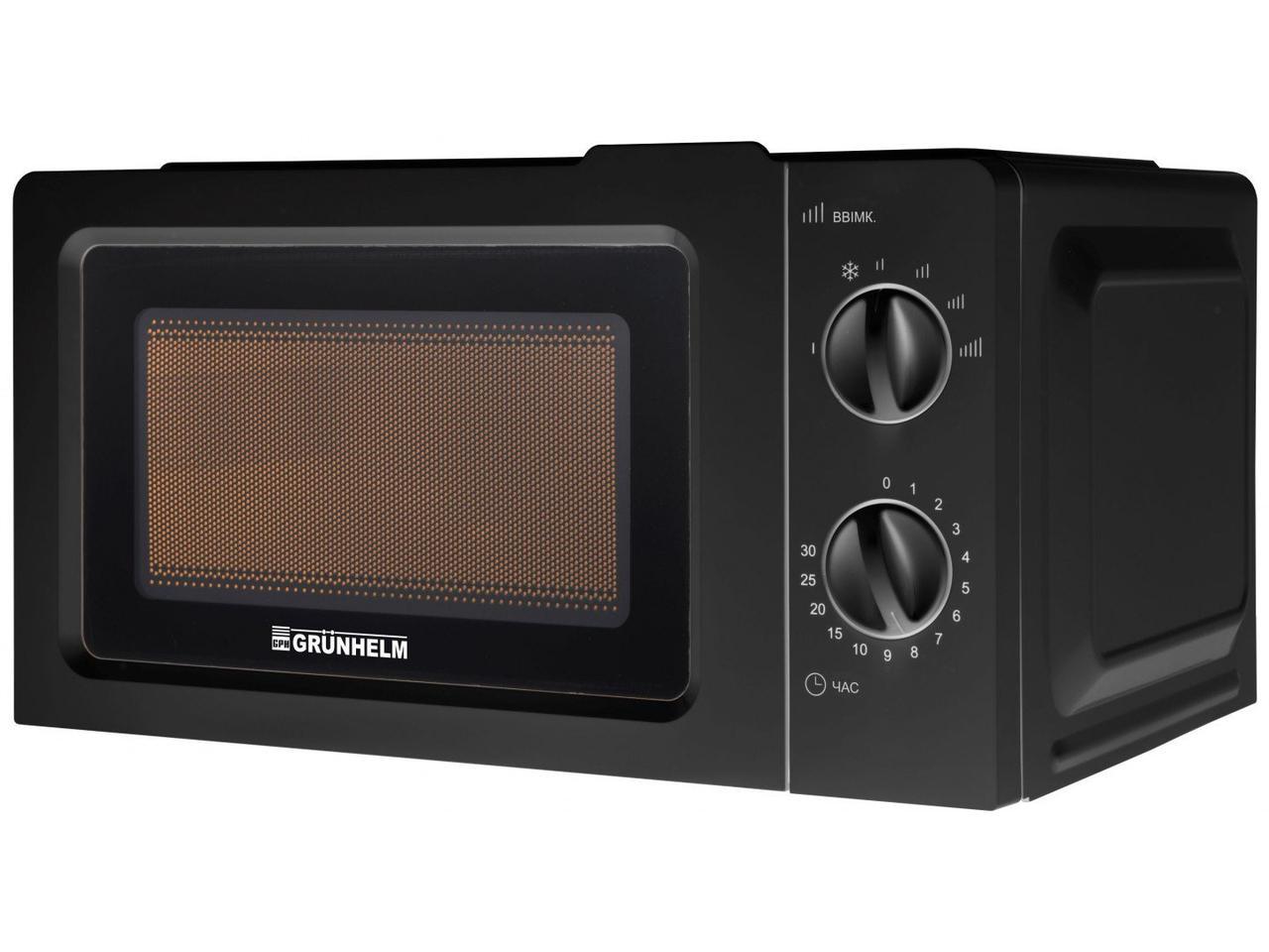 Микроволновая печь Grunhelm 20MX701 мощность 800 Вт