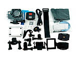 Экшн камера 4K H16-6R wi-fi + Видеорегистратор+ Аквабокс +крепления аналог Go Pro, фото 2