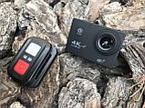 Экшн камера 4K H16-6R wi-fi + Видеорегистратор+ Аквабокс +крепления аналог Go Pro, фото 5
