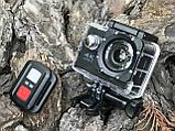 Экшн камера 4K H16-6R wi-fi + Видеорегистратор+ Аквабокс +крепления аналог Go Pro, фото 7