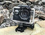 Экшн камера 4K H16-6R wi-fi + Видеорегистратор+ Аквабокс +крепления аналог Go Pro, фото 9