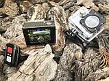Экшн камера 4K H16-6R wi-fi + Видеорегистратор+ Аквабокс +крепления аналог Go Pro, фото 10