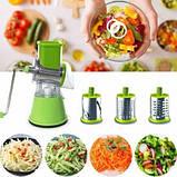 Овочерізка мультислайсер шинковка для овочів і фруктів Kitchen Master Детальніше, фото 3