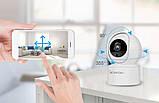 Беспроводная поворотная комнатная IP камера WiFi microSD CareCam 23ST 2 Мп, фото 7