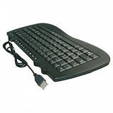 Міні USB клавіатура KB-980, фото 3