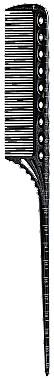 Расческа с хвостиком Y.S. Park YS-G07 Black