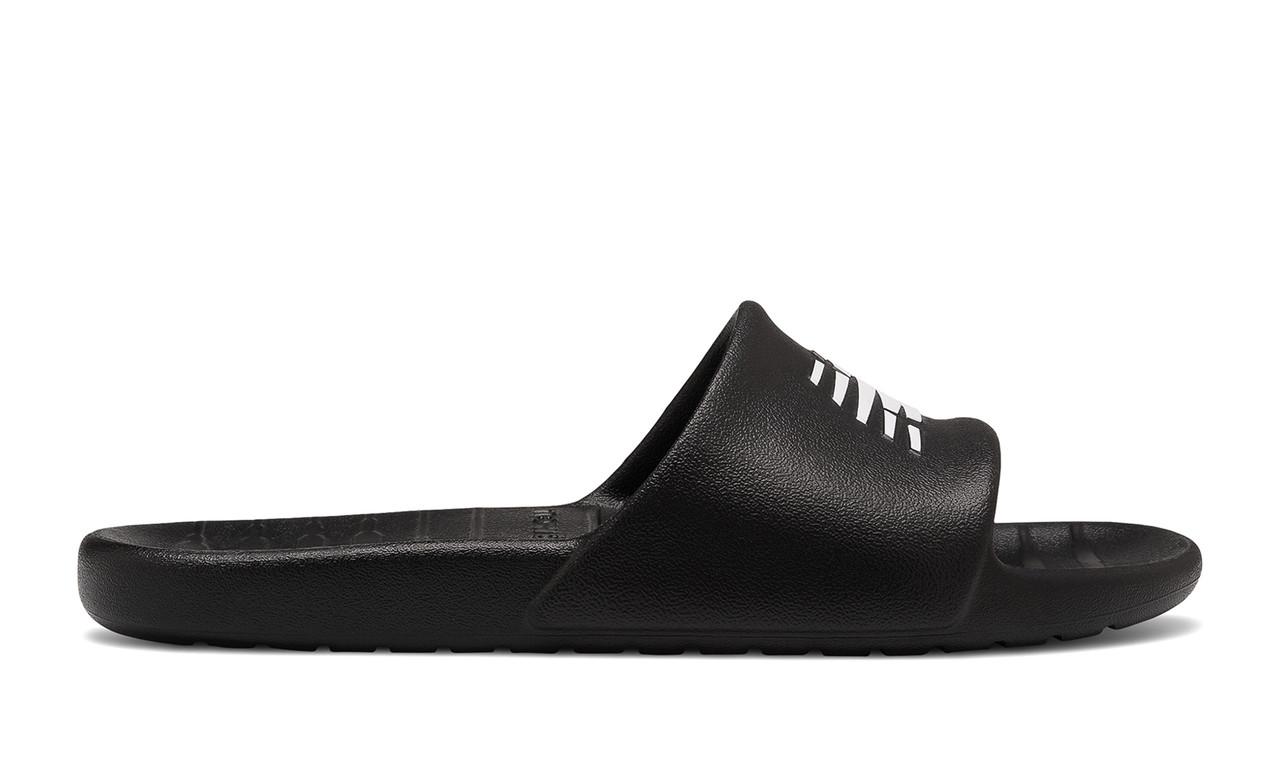 Шлепанцы мужские New Balance 100 черные (SUF100BK)