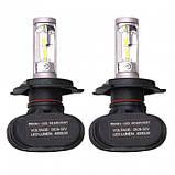 Автомобильные Лед лампы S1 H4 (4000Lm 6500K), фото 4