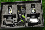 Автомобильные Лед лампы S1 H4 (4000Lm 6500K), фото 6