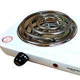 Електроплита дискова на дві конфорки Rainberg RB-888, фото 4