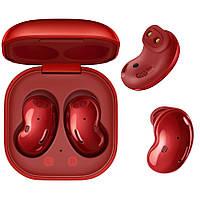 Беспроводные наушники Samsung galaxy buds Live вкладыши Bluetooth гарнитура для телефона iphone, android red