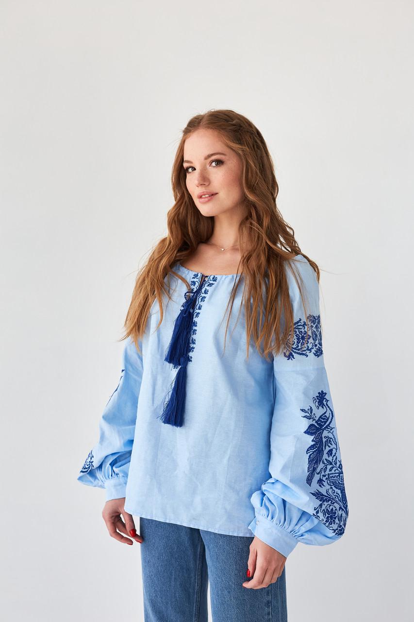 Блузки украинский стиль  - Жар птица