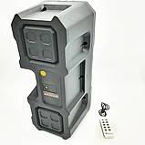 Портативна Мобільна Bluetooth колонка Kts 1048 Чорна, фото 5