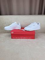 Белые Puma Cali кроссовки женские. Обувь Пума Кали в белом цвете для девушек Puma Cali Bold All White весенние