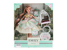 "Кукла ""Emily"" QJ088C с аксессуарами, р-р куклы - 29 см, в кор. 28,5*6,5*32,5см, р-р игрушки – 29 см"