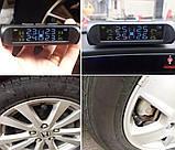 Система контролю тиску і температури в шинах TPMS з датчиками і сонячною панеллю, фото 7