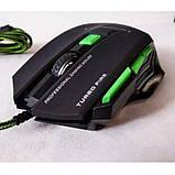 Игровая проводная мышка X7S 7D + коврик, фото 3