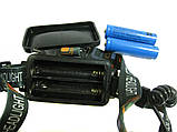 Налобний ліхтар BL 878 + COB T6 ліхтарик 1050 Lumen, фото 3