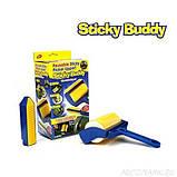 Валик щётка для уборки мусора и шерсти животных Sticky Buddy, фото 3