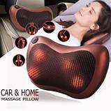 Massage pillow for home and car Масажна подушка для будинку і машини, фото 2
