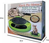 Когтеточка з іграшкою Сatch the mouse, фото 4