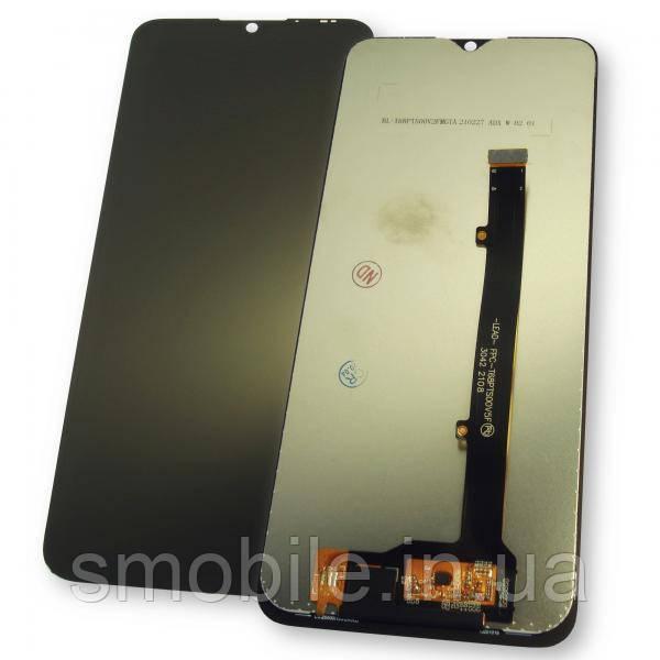Дисплей ZTE Blade V2020 Smart з сенсором, чорний (оригінал Китай)