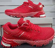Женские кроссовки New Sport красные сетка