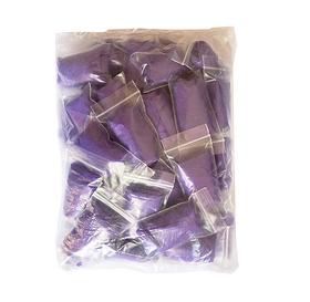 Трусы стринги женские одноразовые фиолетовые 50шт