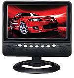 """Портативный телевизор 902 с Т2 USB SD 9,5"""" + батарея, фото 5"""