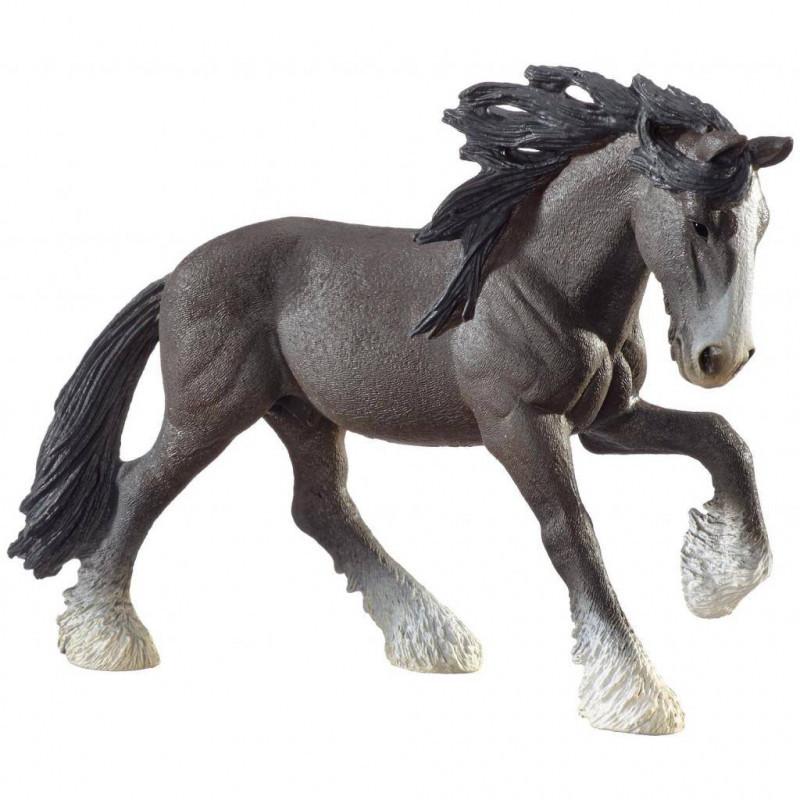 Schleich 13734 Фигурка Шайрский жеребец Shire Stallion Toy Figure