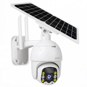 Камера відеоспостереження поворотна UKC Q5 сонячна панель (7584)