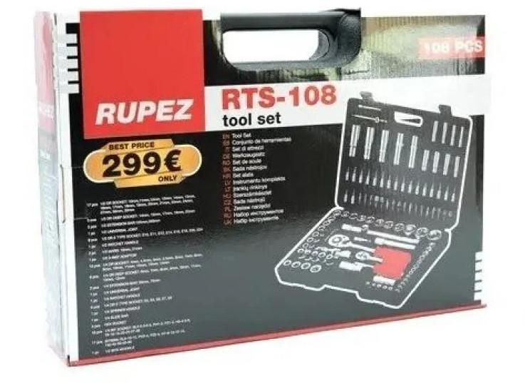 Набір інструментів Rupez RTS-108 ключі, набір головок
