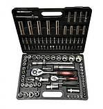 Набір інструментів Rupez RTS-108 ключі, набір головок, фото 3