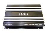 Автомобільний підсилювач звуку UKC PH.5800 8000W 4-х канальний, фото 4