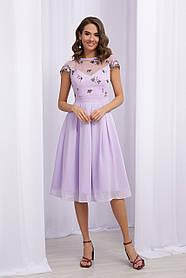 Розкішне плаття з вишивкою для випускного балу Розміри XL