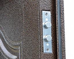 Двустворчатые (полуторные) входные двери ТР-С 121 Китай. Наружные на улицу. Утепленные минватой, фото 3