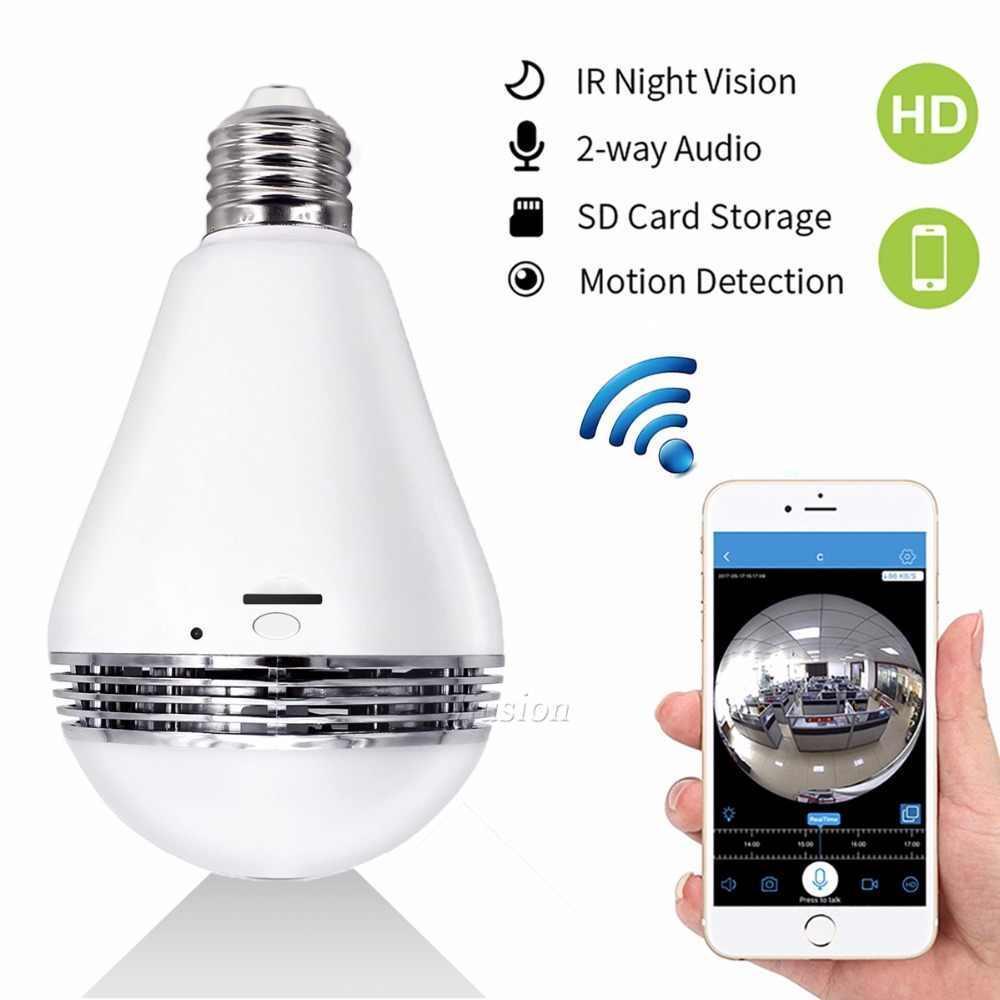 Камера WIFI IP відеоспостереження у вигляді лампочки