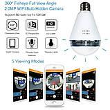 Камера WIFI IP відеоспостереження у вигляді лампочки, фото 3