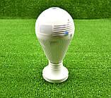 Камера WIFI IP відеоспостереження у вигляді лампочки, фото 4