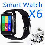 Розумні годинник Smart Watch X6 Plus Black, фото 2