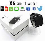 Розумні годинник Smart Watch X6 Plus Black, фото 8