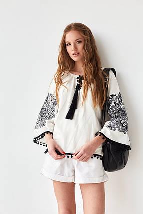 """Женская вышитая блуза """"Этностиль"""", фото 2"""
