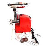 Електрична м'ясорубка Wimpex WX 3077 2000 вт, фото 4