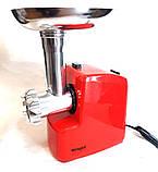 Електрична м'ясорубка Wimpex WX 3077 2000 вт, фото 5