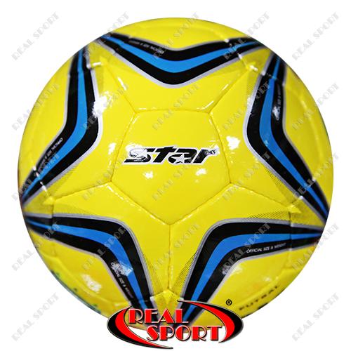 Мяч футзальный Star FB-2138 №4, 5 сл., сшит вручную