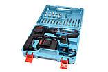 Шуруповерт Makita 550Dw 2 акумулятора + валіза + комплект, фото 2
